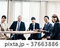 男女 ビジネス 会社員の写真 37663886