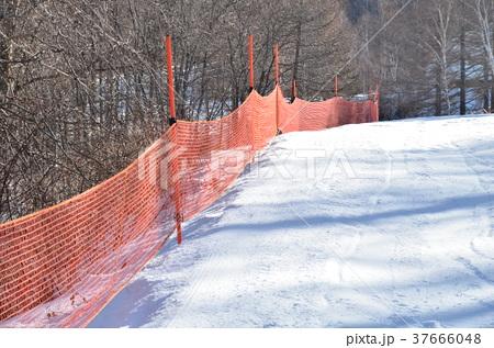 スキー場の安全(防護)ネット 37666048