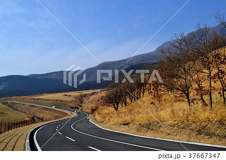 くじゅう連山をめぐるドライブコース ぐるっとくじゅう周遊道路 37667347