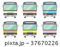 バス セット 自動車のイラスト 37670226