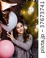 パーティー バルーン 風船の写真 37673741
