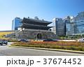 韓国 ソウル 崇礼門(南大門) 37674452