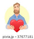 ハート ハートマーク 心臓のイラスト 37677181