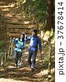山歩き ハイキング シニアの写真 37678414