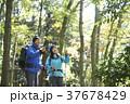 山歩き ハイキング 山の写真 37678429