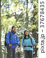 山歩き ハイキング 山の写真 37678435