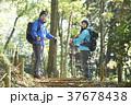 山歩き ハイキング 山の写真 37678438