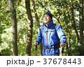山歩き ハイキング 山の写真 37678443