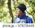 山歩き ハイキング 山の写真 37678449