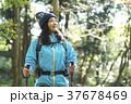 山歩き ハイキング 山の写真 37678469