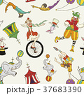 lovely circus collection seamless background 37683390