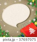 袋 クリスマス クリスマスデコレーションのイラスト 37697075