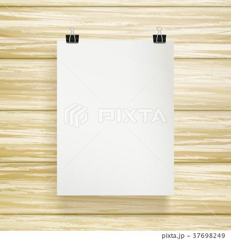paper blank brochure templateのイラスト素材 37698249 pixta