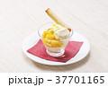 マンゴースイーツ マンゴーパフェ アイスクリーム マンゴー  37701165