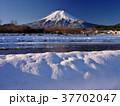 富士山 冬 夜明けの写真 37702047