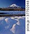 富士山 冬 夜明けの写真 37702048