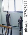 人物 生徒 階段の写真 37707942