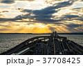 東京湾アクアライン 朝焼け ※2017年12月撮影 37708425