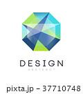 シンボルマーク ジオメトリック 幾何学的のイラスト 37710748