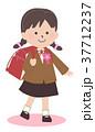 小学生 女の子 子供のイラスト 37712237