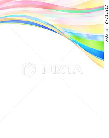 テクスチャー ストライプ フレーム 37712813