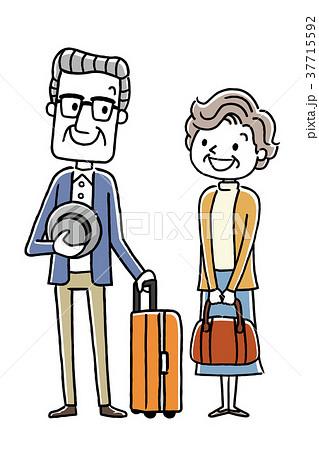 シニア夫婦:旅行 37715592