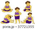 ダイエット 女性 肥満のイラスト 37721355