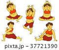 ダイエット 女性 肥満のイラスト 37721390