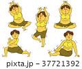ダイエット 女性 肥満のイラスト 37721392