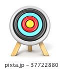 Archery target front view 3D 37722880