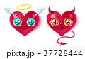 ハート ハートマーク 心臓のイラスト 37728444