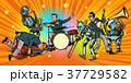 jazz rock n roll band of humans and robots 37729582