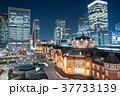 東京駅 夜景 丸の内の写真 37733139