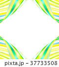 縞模様 ストライプ フレームのイラスト 37733508