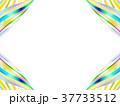 縞模様 ストライプ フレームのイラスト 37733512