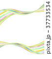 縞模様 ストライプ フレームのイラスト 37733534