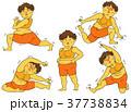 ダイエット 女性 肥満のイラスト 37738834