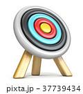 Archery target side view 3D 37739434