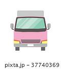 トラック 配送 宅配便のイラスト 37740369