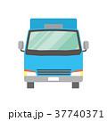 トラック 配送 宅配便のイラスト 37740371