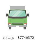 トラック 配送 宅配便のイラスト 37740372