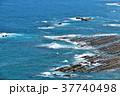 宮崎県 日向灘と鬼の洗濯板 37740498