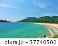宮崎県 青空と青い海 37740500
