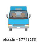 トラック 宅配便 配送のイラスト 37741255