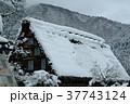 雪の白川郷合掌集落 37743124