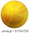 ビットコイン コイン 硬貨のイラスト 37745729