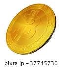 ビットコイン コイン 硬貨のイラスト 37745730