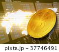 ビットコイン コイン 仮想通貨のイラスト 37746491