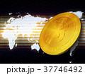 ビットコイン 金貨 コインのイラスト 37746492