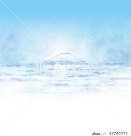 雲海の上の富士山 37746576